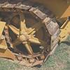 Cat 22 w canopy drive wheel rr lf