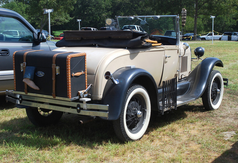 Ford 1929 Model A roadster rr rt