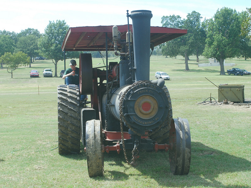 Eclipse Steam Tractor front