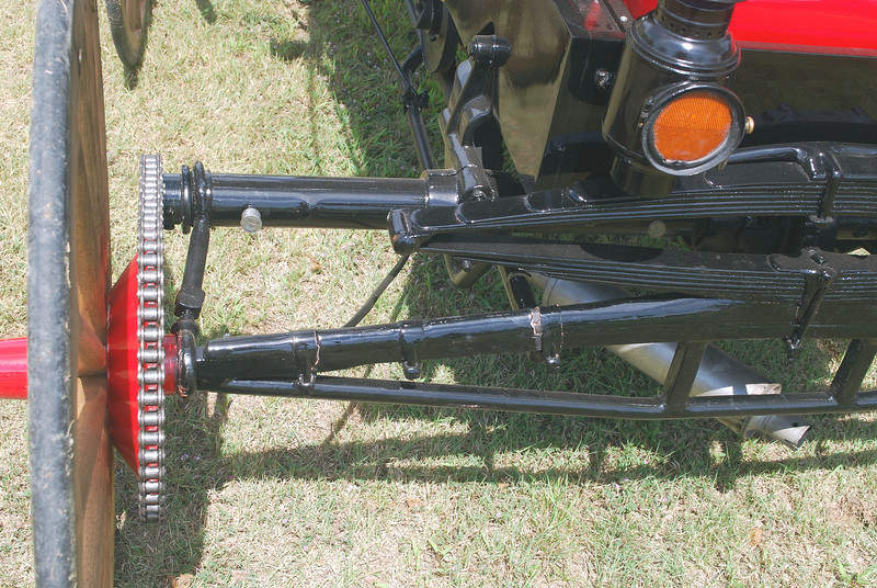 Dunfree Motor Buggy 1903 rr drive chain