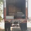 Brown trailer rear