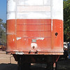 Brown trailer front