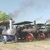 A D  Baker engine ft rt w Case lineup