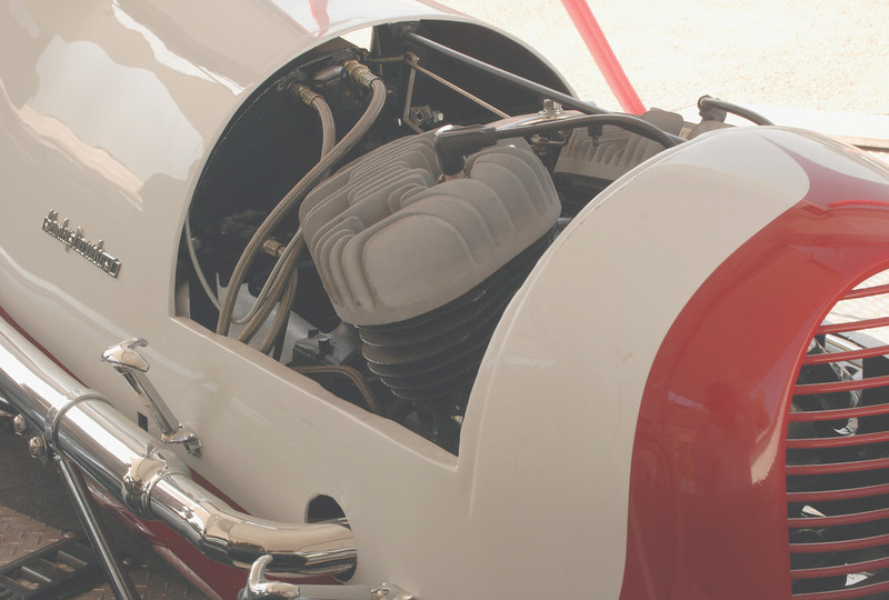 3-4 Midget w HD 45 engine ft rt