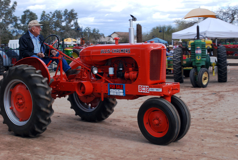 Allis-Chalmers WC 1947 ft rt