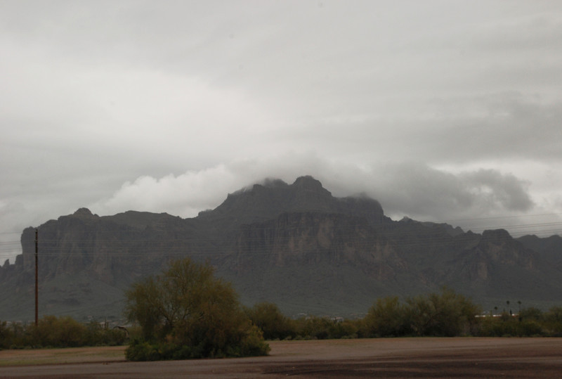 2013-03-09 Superstition Mountains clouded over