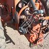 Allis-Chalmers G w mower engine rr lf
