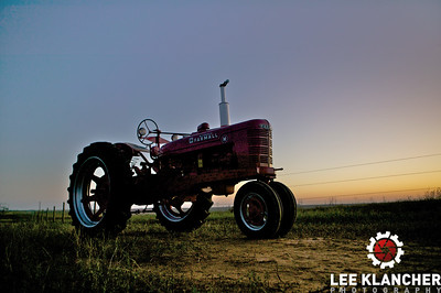 This 1944 H was restored by the South Plains Antique Tractor Association and raffled off in Fall 2009. The tractor consists of three different parts tractors, with the best pieces taken from each.