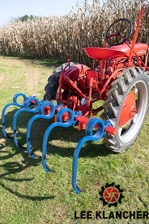 1956 Farmall Cub with digger
