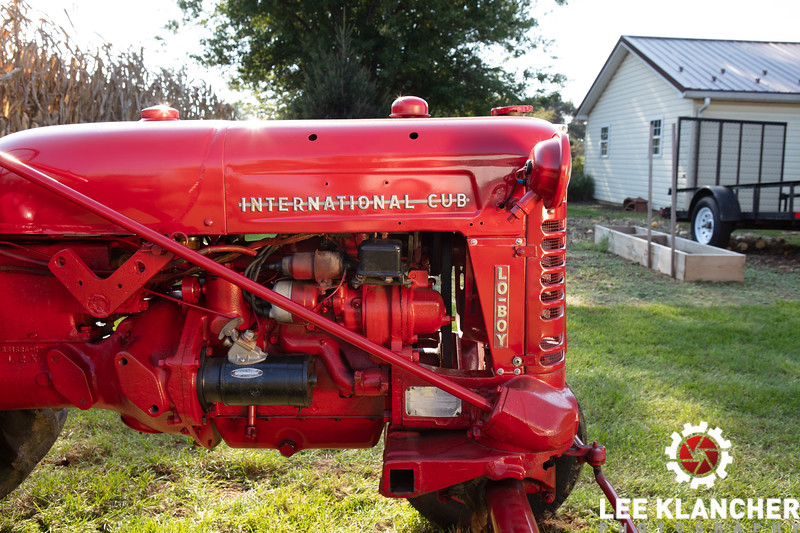 Tractor owned by Larry Kern as of October 7, 2018