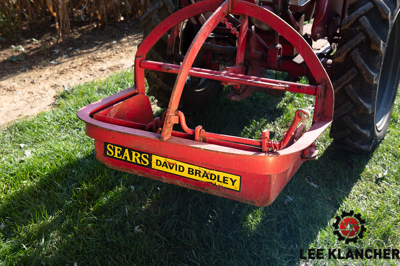 1958 IH Cub Lo-Boy with David Bradley Bucket