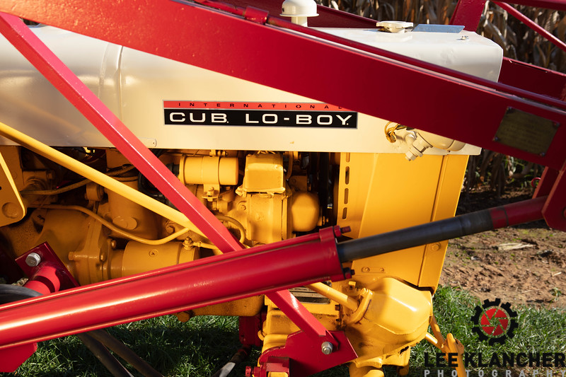 1968 International Cub Lo-Boy with Henderson Loader
