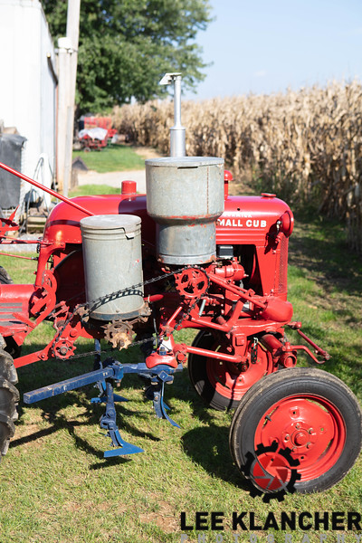 Farmall Cub with Planter and Saw