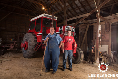 Darius Harms and his original condition International Harvester 1568