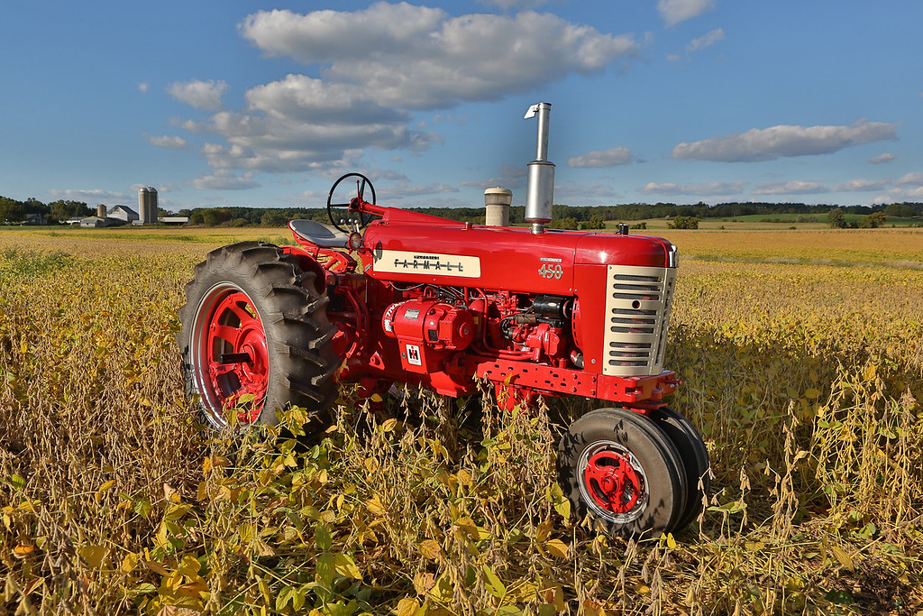 Farmall 450 with Electrall, owned by Ken and Dick Huber