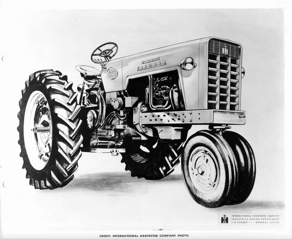 Concept drawing for the 60 series. Gregg Montgomery collection.
