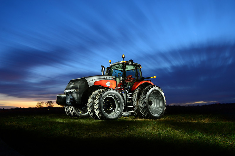 25th Anniversary Magnum 340, photographed by light painter Mark Jenson