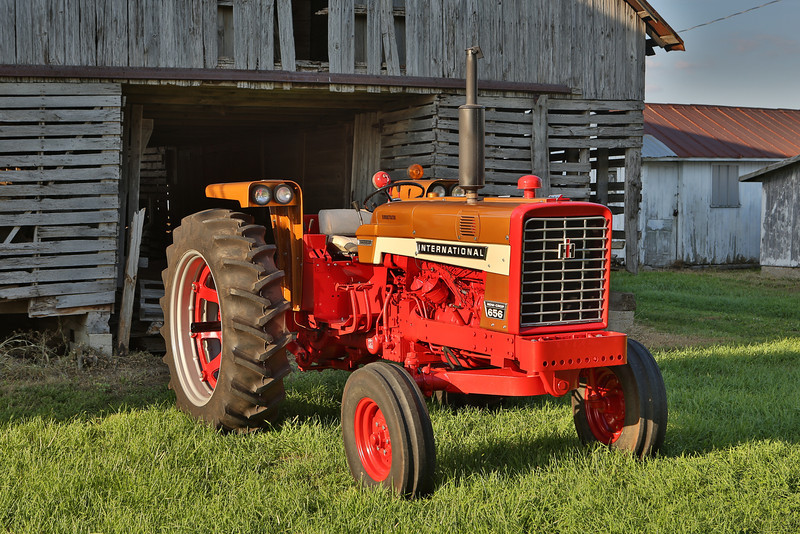 International 656 demonstrator owned by Bob Zarse