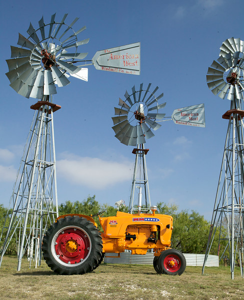 "This 1959 Minneapolis Moline 5 Star Universal Diesel is owned by Bill and Linda Adams of Lubbock, Texas. The tractor was photographed on the grounds of the American Wind Power Center in Lubbock, Texas. You can check out the Wind Power Museum at <a href=""http://www.windmill.com/"">http://www.windmill.com/</a>, and the American Museum of Agriculture at <a href=""http://www.agriculturehistory.org/"">http://www.agriculturehistory.org/</a>."