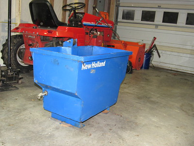 New Holland Ballast Box