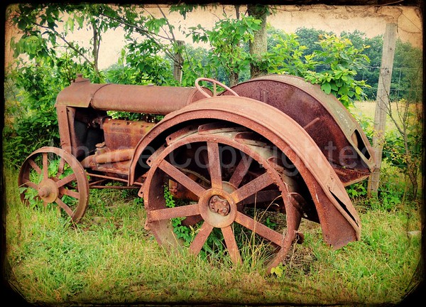 Old tractor 6/22/12
