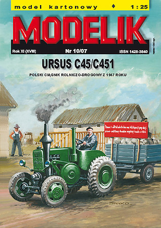 001 Modelik Ursus C45 cover