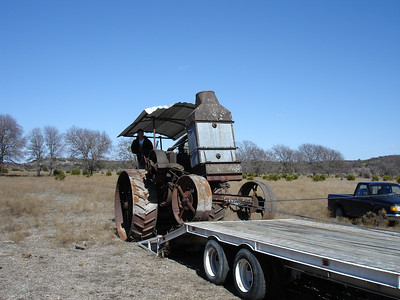 Rumely Model F Relocation 02-11-06 028