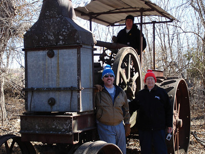 Rumely Model F Relocation 02-11-06 013