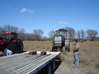Rumely Model F Relocation 02-11-06 024