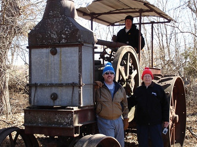Rumely Model F Relocation 02-11-06 012