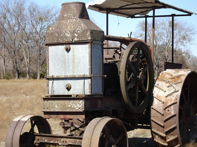 Rumely Model F Relocation 02-11-06 026