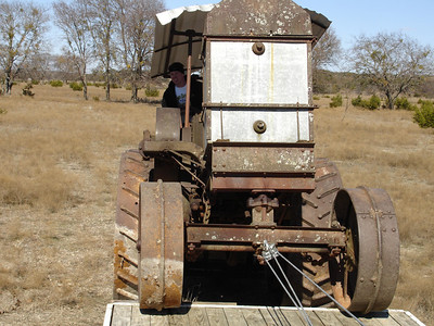Rumely Model F Relocation 02-11-06 031