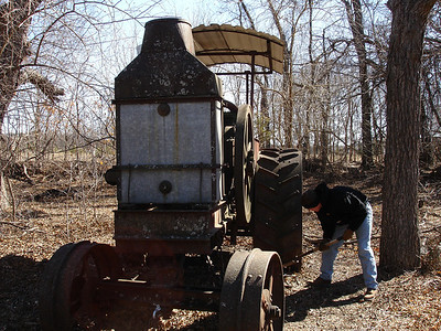 Rumely Model F Relocation 02-11-06 011