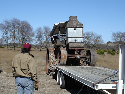 Rumely Model F Relocation 02-11-06 030