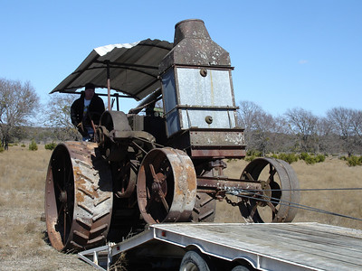 Rumely Model F Relocation 02-11-06 029