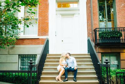 Tracy + Anthony | Madison Square Park Manhattan Engagement