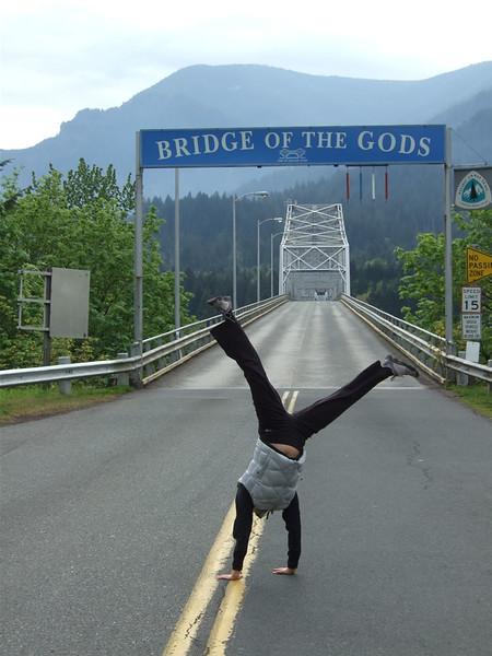 Tracy Mcfarlane - Bridge of the Gods, Washington