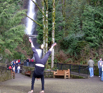Tracy McFarlane - Multnomah Falls, Oregon