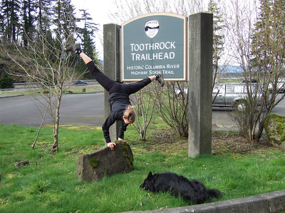 Tracy McFarlane - Toothrock Trailhead - The Gorge, Oregon