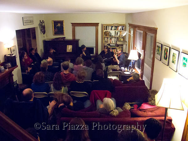 Kevin Crawford, Cillian Vallely, Lunasa, Ted Davis, George Keith, Medford, house concert