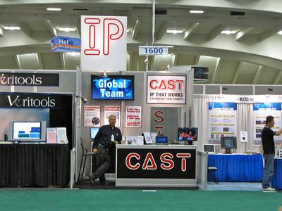 46th DAC (2009) CAST, Inc. Booth