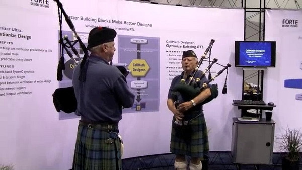 Additional tunes played by the bagpipers at Forte's booth for the closing of DAC 2010.