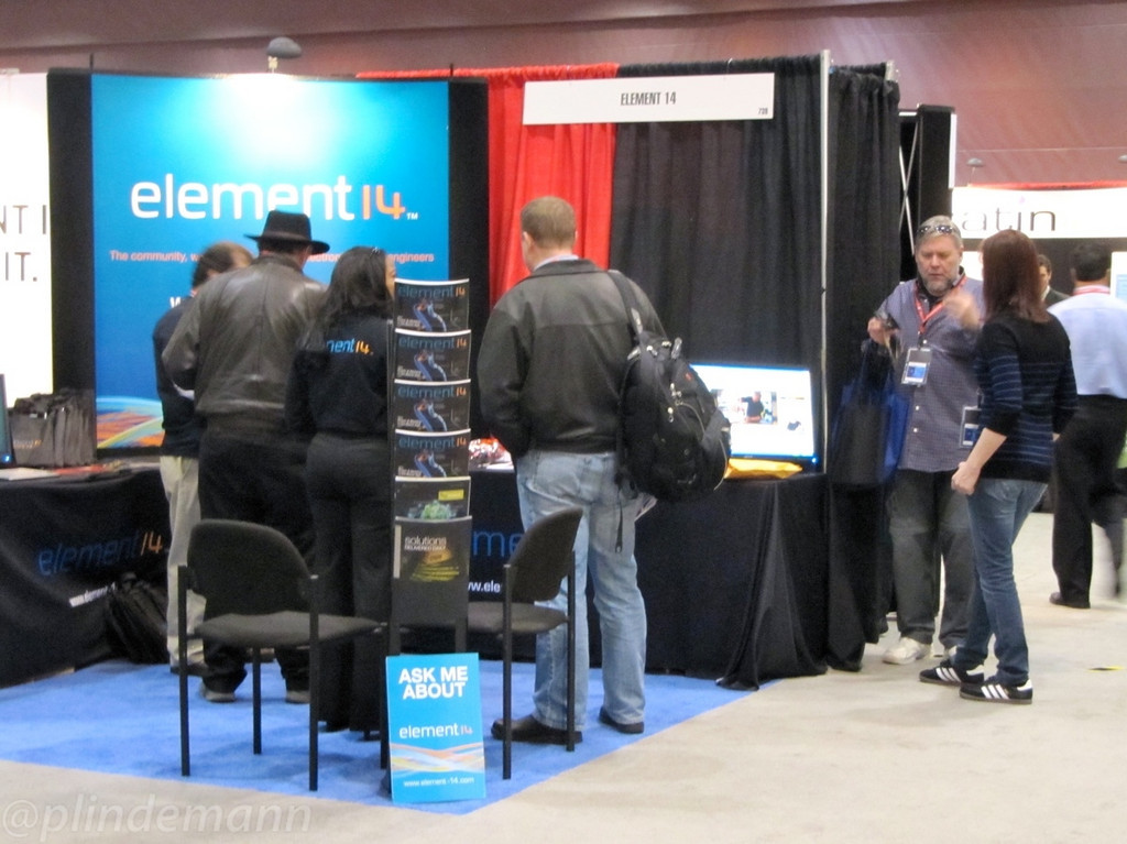 Element14 hosted successful ASIC/FPGA designer and entrepreneur Jeri Ellsworth for chats with peers.