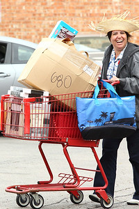 """The """"680 Bags Lady"""" Arrives"""