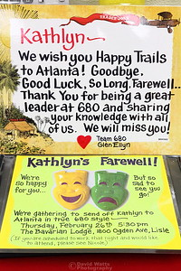 Kathlyn's Farewell Party at the Store