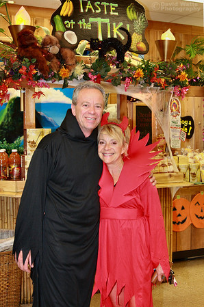 Customers Jim and Lenice get caught up in the Halloween spirit. Img_0544_1