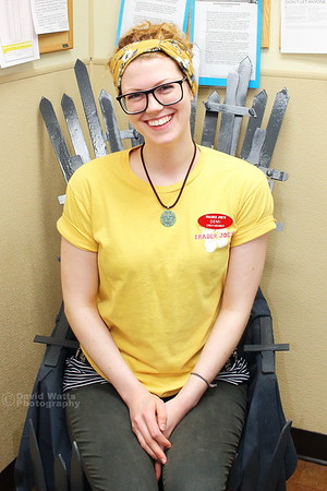 Demi in the Games of Stores Chair