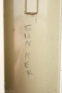 Old Baler Inscriptions on the Back