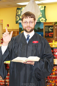Rev. Joel Preaches the Good Book and Good Produce (Before)