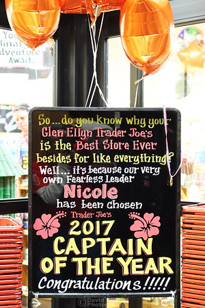 Nicole's Captain of the Year Celebration